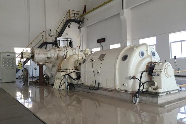 目前主厂房及锅炉房已出0米平面,冷却塔已施工至6米层图片